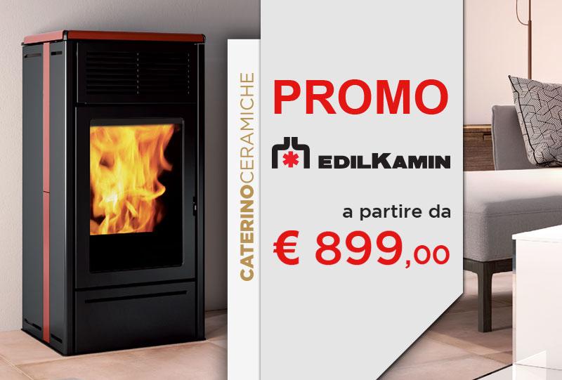 Offerte edilkamin caserta stufe a pellet termostufe e termocamini - Stufe a pellet per riscaldamento termosifoni ...