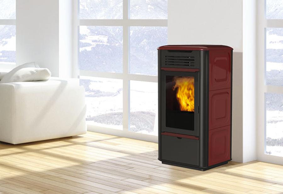 Offerte edilkamin caserta stufe a pellet termostufe e termocamini - Stufa a pellet prezzi edilkamin ...