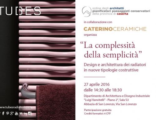 La complessità della semplicità: il workshop in collaborazione con Tubes