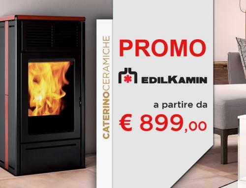 Offerte Edilkamin: catalogo stufe a pellet, termostufe e termocamini
