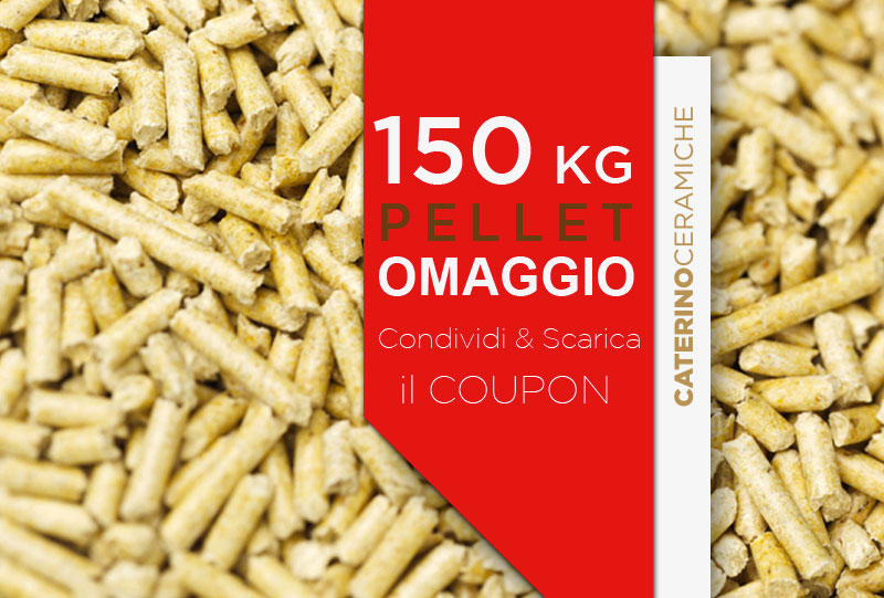 150 kg di pellet omaggio su stufe e termostufe Edilkamin: stampa il ...