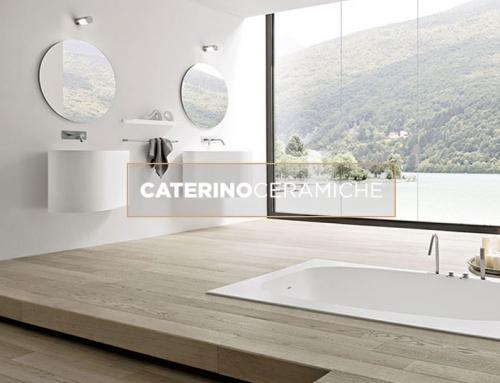 Le atmosfere da bagno firmate ideagroup caterino ceramiche for Arredo bagno componibile